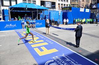 Boston Marathon Finish Line 2011