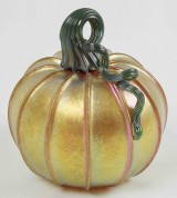 Glass pumpkins – all the rage.