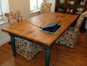 Original dining room table