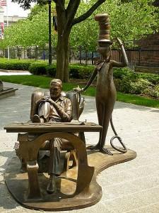 Dr Seuss Sculpture Garden